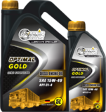 Samic Optimal Gold 15W-40 API CI-4